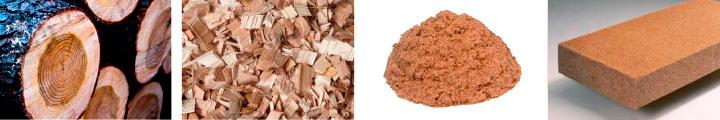 不純物のない北海道産バージンチップを使用したエコロジー商品