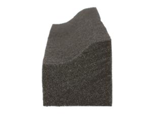 VKPトリオは断面がくさび型になっており、室内側が室外側と比べて厚くなっています